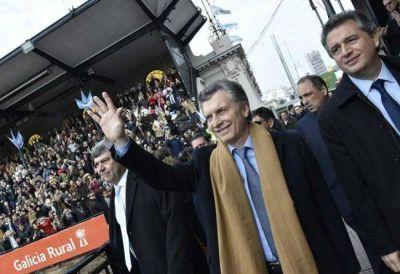 De leche a frutas, el 'otro campo', que no está de fiesta con Macri