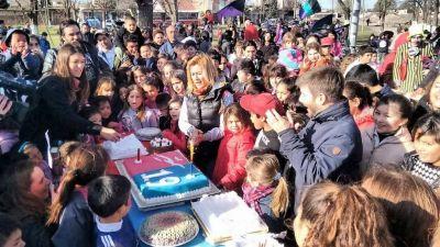 Acción Marplatense festejó su cumpleaños en el barrio Las Heras