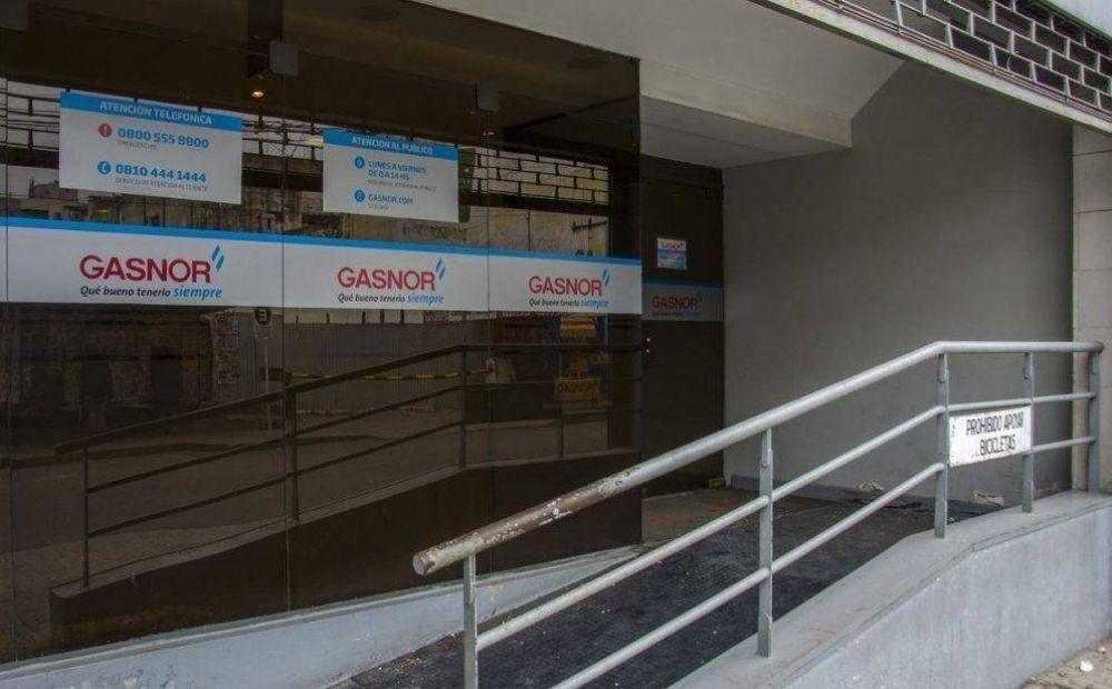 El paro de empleados de Gasnor afecta a contratistas