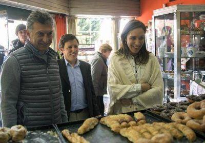 Mauricio Macri y María Eugenia Vidal realizaron timbreada en San Miguel
