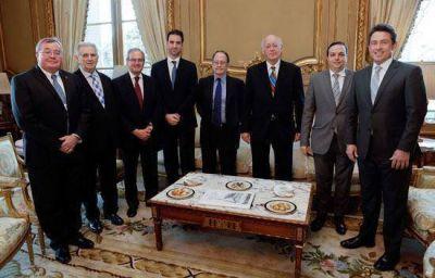 El embajador de los Estados Unidos recibió a la DAIA