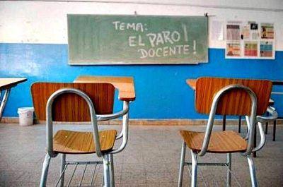 Este miércoles por el Paro Nacional Educativo las escuelas y la Universidad estarán vacías