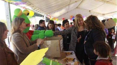 Salud realizó un agasajo para los niños en Los Vazquez