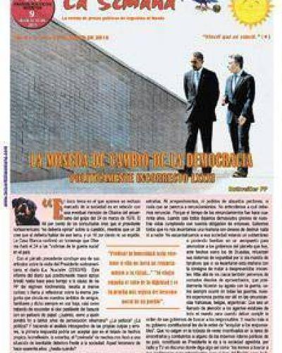 La revista de los genocidas que festej�
