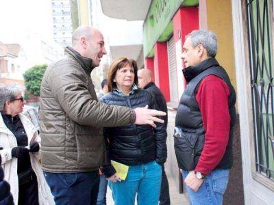 Bullrich y Molina, al frente del timbreo en el distrito