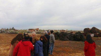 Constataron condiciones de habitantes de la meseta