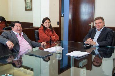 Amaya, Lizárraga y Orellana avanzaron en proyectos de obras de urbanización para Famaillá