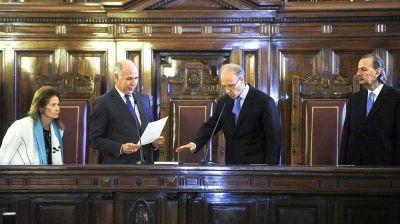 Carlos Rosenkrantz asumió como juez de la Corte Suprema