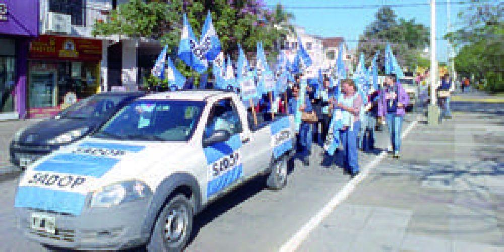 SADOP llamó a docentes a sumarse al paro