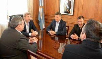 Peppo y Frigerio acordaron la continuidad de obras importantes para el Chaco