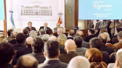 Lifschitz oficializó el proceso de reforma