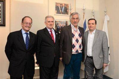 La DAIA recibi� a los gobernadores de San Luis y Tierra del Fuego