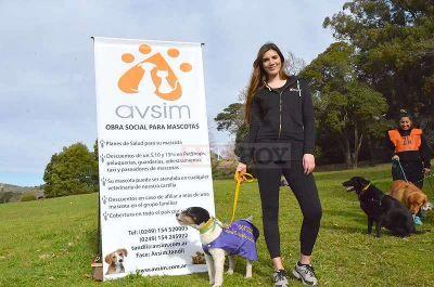 Presentaron AVSIM la primer obra social para mascotas en Tandil