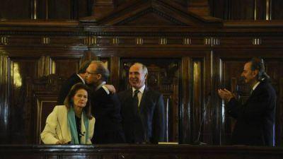 Juró Carlos Rosenkrantz y la Corte Suprema ya está completa