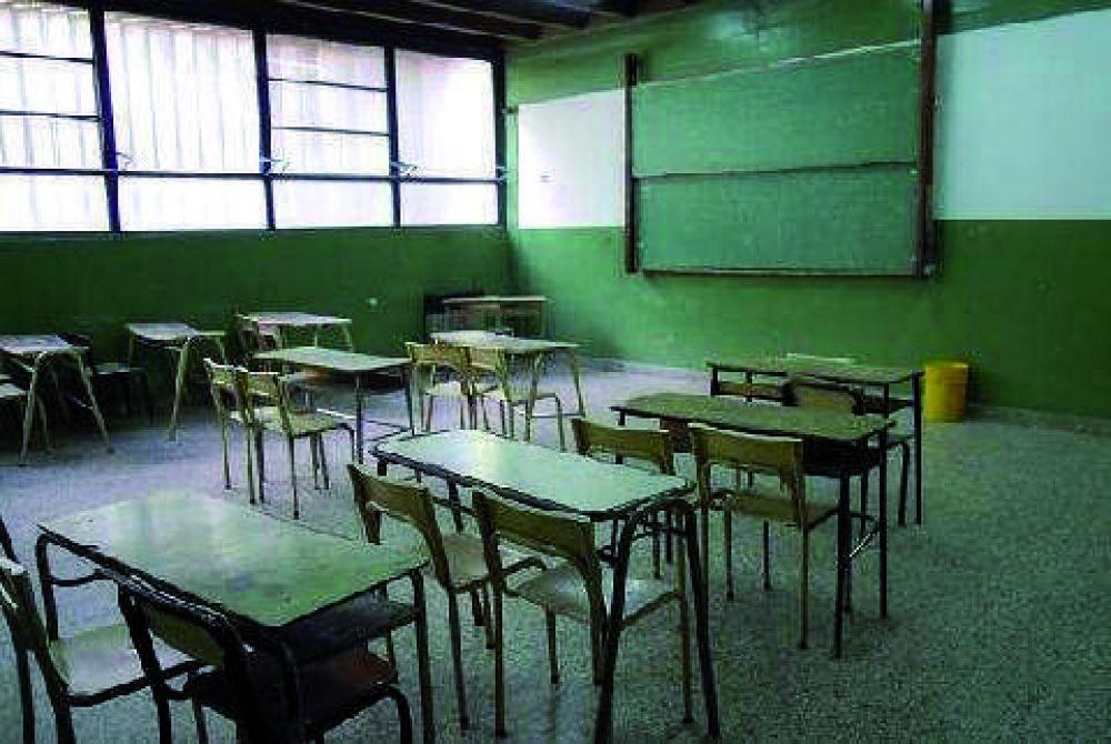 Los gremios docentes volverán a parar este miércoles