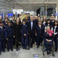 Vidal acompa�� a Macri en la inauguraci�n de una planta de Distribuci�n en Avellaneda