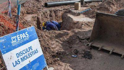 Reparan el acueducto que dejó sin agua a la zona centro oeste