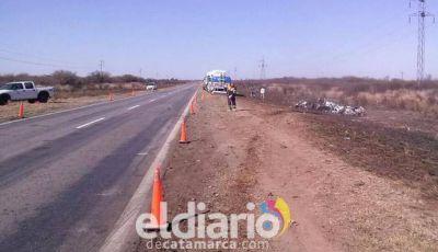 Polémica entre Vialidad Nacional y el intendente Carletta por el estado de la ruta 157