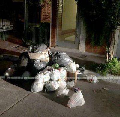 Recolecci�n de residuos: un h�bito de los encargados complica m�s las cosas