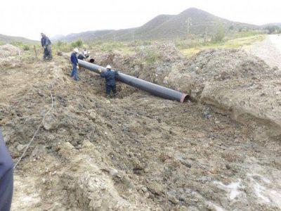 Das Neves y Linares dicen que el acueducto no estar� listo por culpa de Britapaja