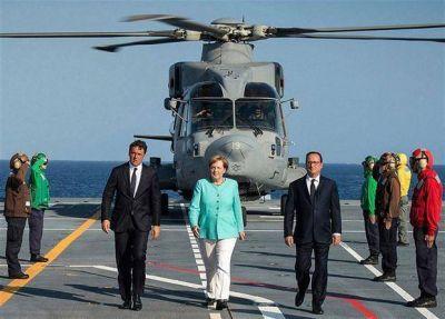 Merkel, Hollande y Renzi buscan relanzar la nueva Europa tras el Brexit