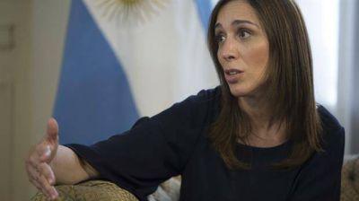 María Eugenia Vidal habló de las amenazas en su contra: