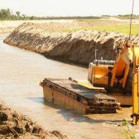 Preocupaci�n del Gobierno provincial por obra en el r�o Pilcomayo