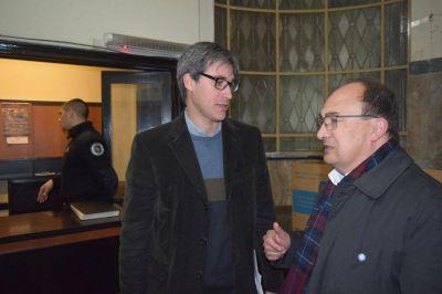 El Intendente de Saladillo se reuni� con el Secretario de Estado para la Reforma Pol�tica