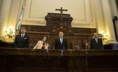 Por ahora, San Luis no tendr� representantes oficiales en la audiencia p�blica