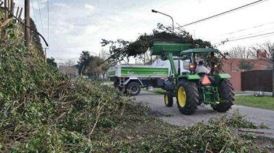 Realizaron obras de mantenimiento en Jáuregui