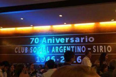 El Club Sirio de Rosario celebr� su 70� Aniversario