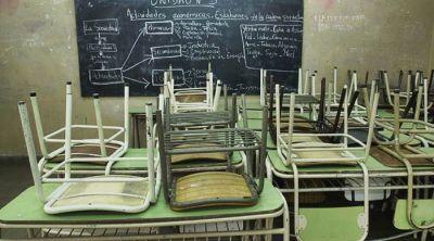 No hay clases por el paro docente