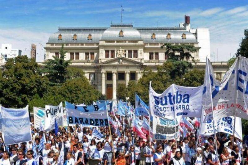 Miércoles de paro y movilizaciones en la Provincia