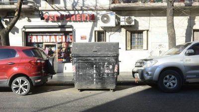 Contenedores en problemas: ya est�n en todos los barrios, pero crece el mal uso
