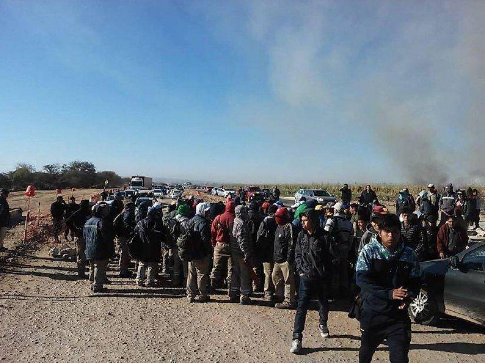 Cortes de rutas e inminente pérdida de la zafra en el Tabacal