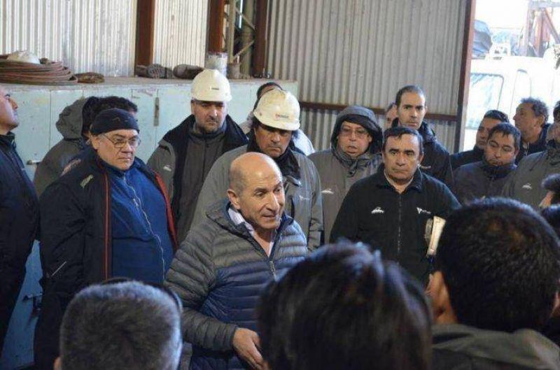 Siguen las visitas de José Llugdar a afiliados en sus lugares de trabajo