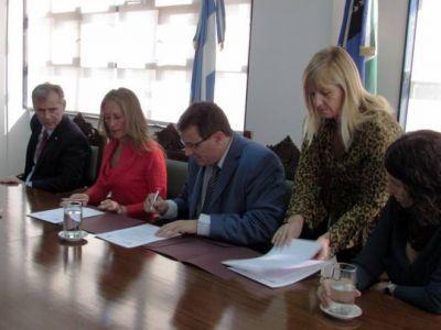 Trabajo y Justicia firmaron convenio de cooperaci�n conjunta