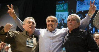 El triunvirato se mostrará con la Juventud Sindical