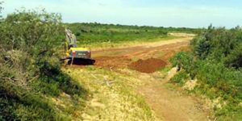 Funcionario del MOPC del Paraguay negó que hubieran incursionado en territorio argentino por el Pilcomayo