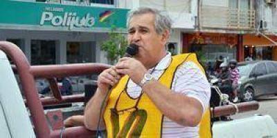 """""""Gildo Insfrán maneja el látigo salarial"""" dijo Carlos Toloza"""