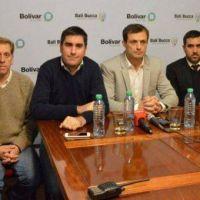 Mosca defendi� su relaci�n con Bucca y resalt� el trabajo �codo a codo� con el Intendente de Bol�var