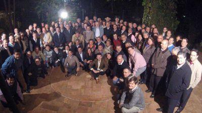 Passalacqua recibió a los 75 intendentes de la provincia para analizar la realidad económica