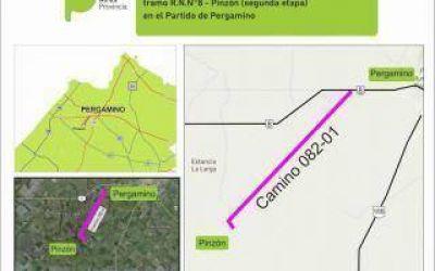 Licitaron obras viales para Pergamino y San Cayetano