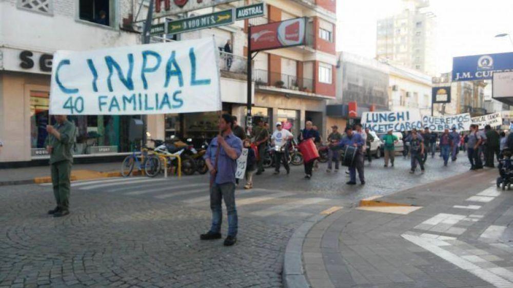 Con una ayuda municipal provisoria, Cinpal espera reunión en Cancillería para obtener respuestas