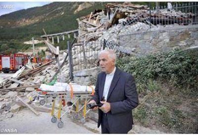 Terremoto: el Papa llama por tel�fono al Obispo de Rieti.