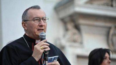 Parolin: El papa sue�a con la reconciliaci�n entre los cat�licos chinos