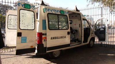 Nueva ambulancia para el Hospital
