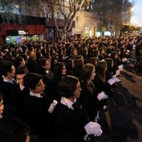 Alumnos de colegios puntanos se comprometieron con la Patria