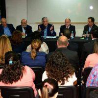 El gobernador anunci� varias obras para la Universidad Nacional de Villa Mercedes