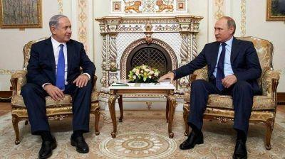 Putin y Netanyahu acuerdan intensificar contactos